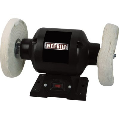 Wel Bilt Benchtop Buffer 3 4 Hp 8in Dia Wheel