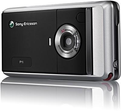 Sony Ericsson P1i smart phone - Back