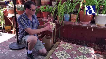 While preparing to pre-seal your cement tile, take the opportunity to inspect each tile.