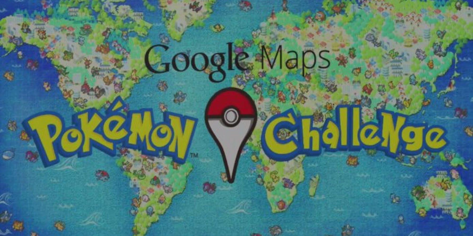 Google Maps Is Taken Over By Pokemon In April Fools Prank