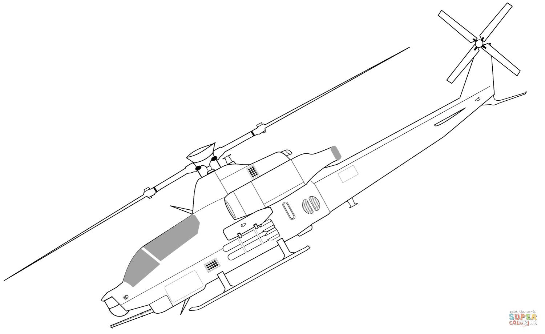 Klick das Bild Bell AH 1Z Viper Hubschrauber
