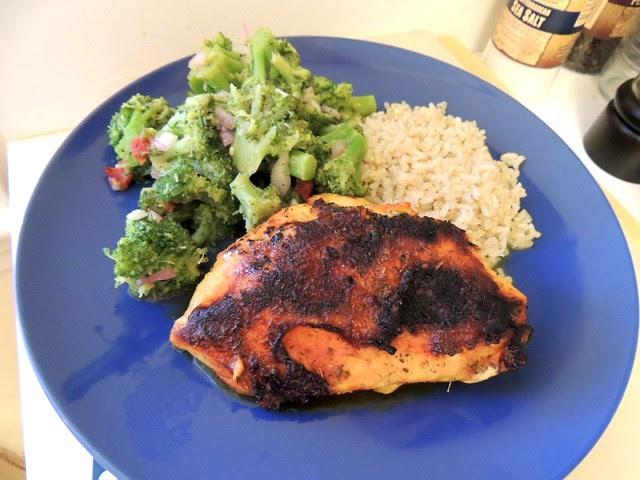 Blackened Chicken with Goya