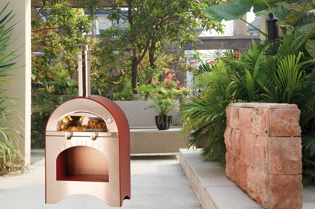 Alfa Pizza Ovens - outdoor wood burning ovens imported from Italy ...