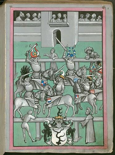 Ludwig von Eyb - Turnierbuch f