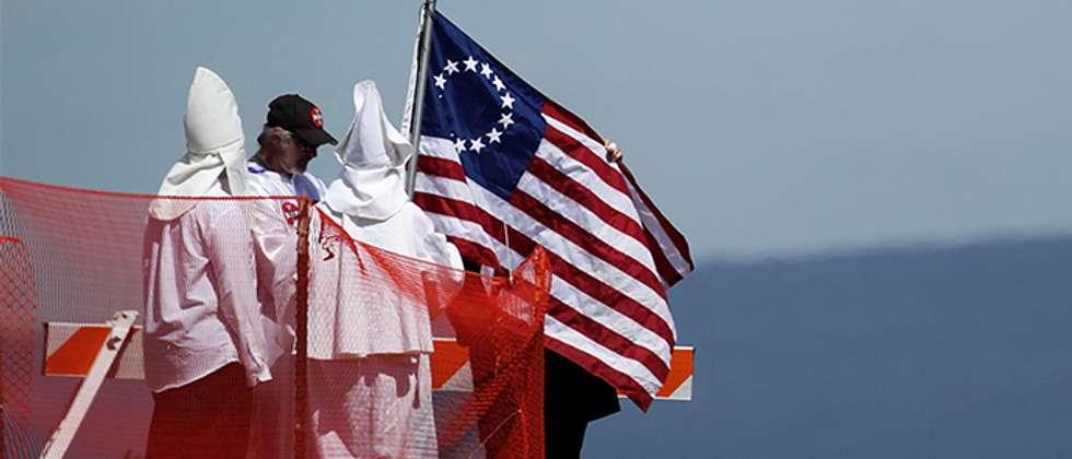 Ku Klux Klan ( Alex Wong/AFP )