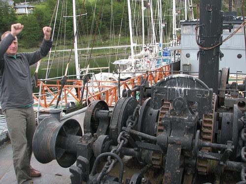 Peter with windlass