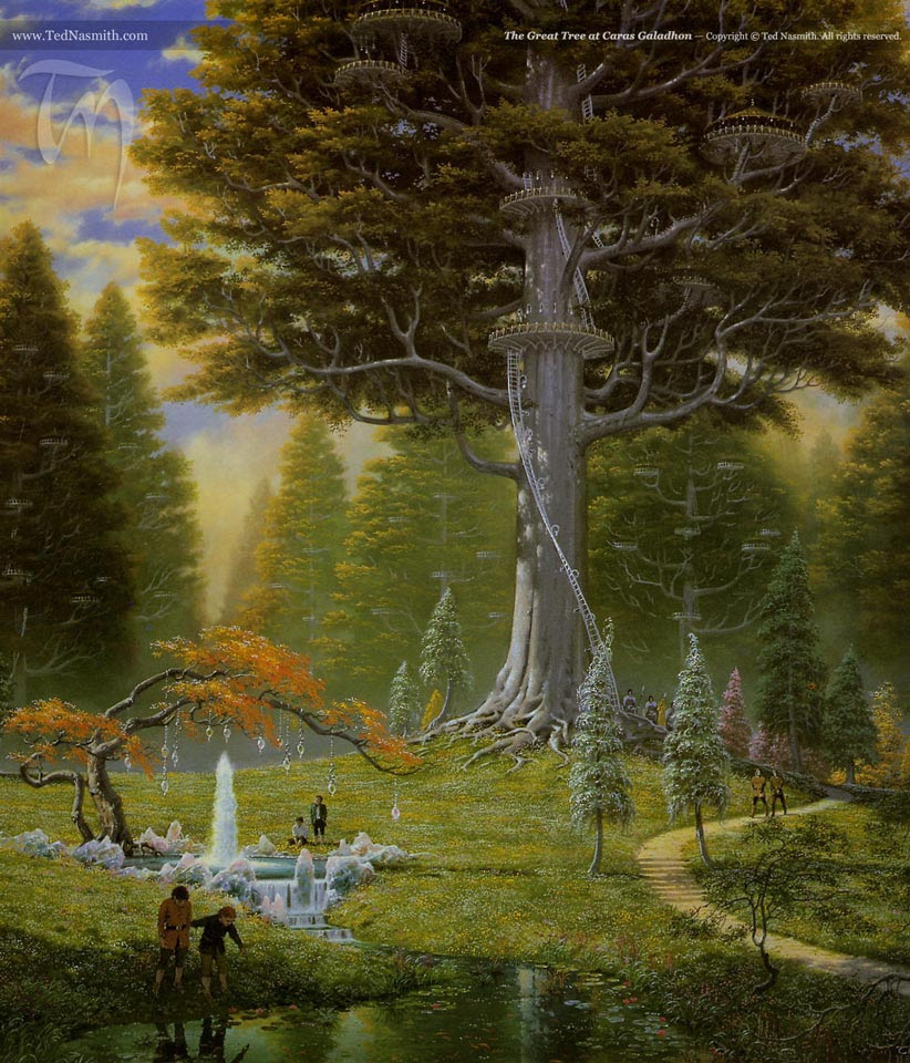TN The_Great_Tree_at_Caras_Galadhon