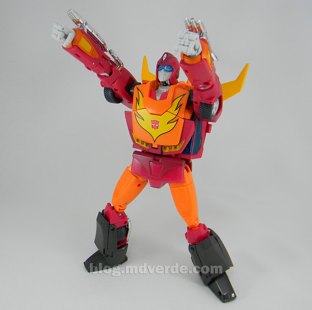 Transformers Hot Rod Masterpiece - modo robot