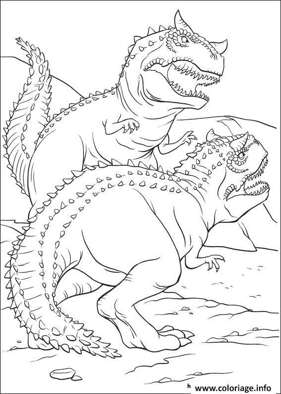 Coloriage Dinosaure Gratuit 38 Jecoloriecom