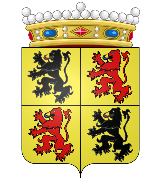 Archivo: Héraldique Provincia BE Hainaut crown.svg