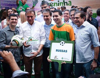 Política - Weber Araújo participou nesta segunda (11) do evento de lançamento do Projeto Areninha