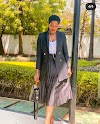 See Cute Photos Of Stephanie Okereke After She Broke Her Leg In A Fatal Accident
