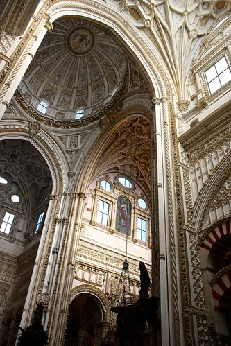 Transept, Mosque-Cathedral of Córdoba, Spain