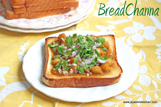 Bread -channa