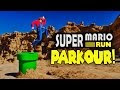 Super Mario Run Meets Parkour in Real Life - Video