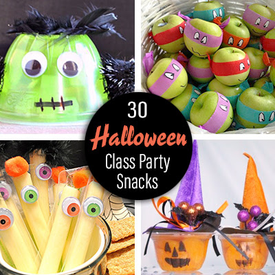 Pre Packaged Halloween Class Party Snack Ideas Pto Today