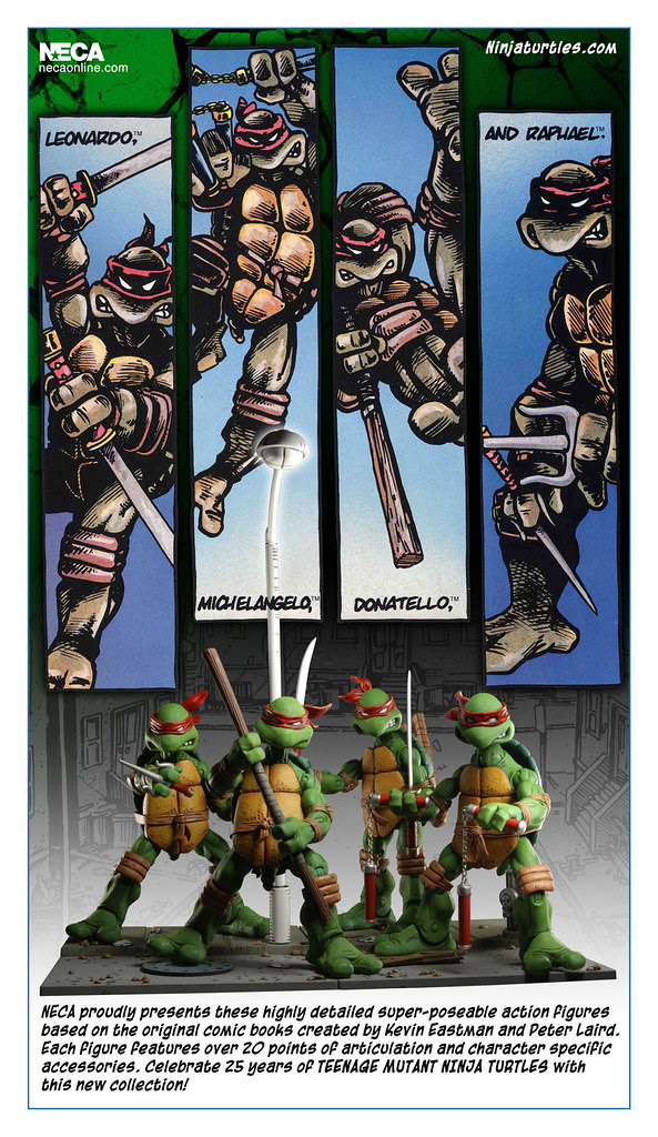 NECA TMNT // CMYK - -  CARD Back Peek [[ courtesy of Steve Murphy ]]