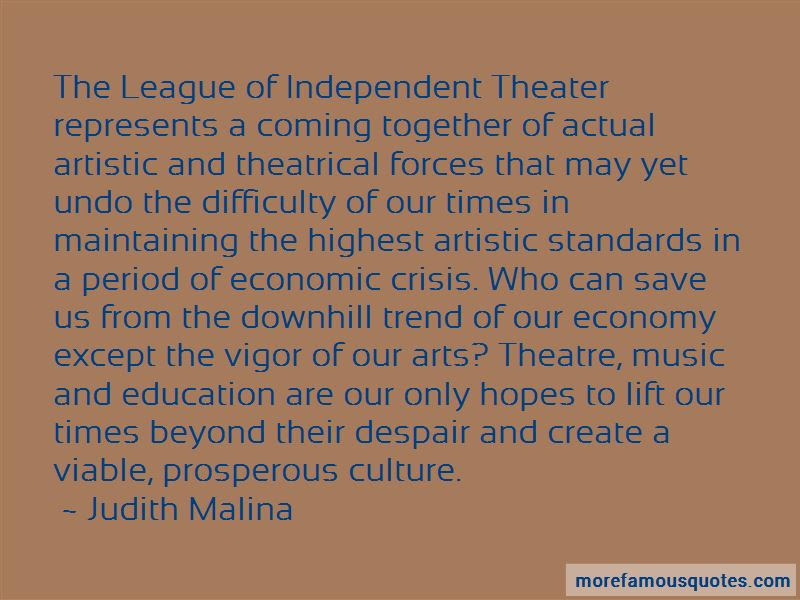 Theatre Arts Education Quotes Top 2 Quotes About Theatre Arts