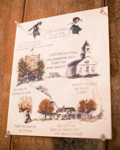 A Rustic Fall Barn Wedding in Maine   Martha Stewart Weddings
