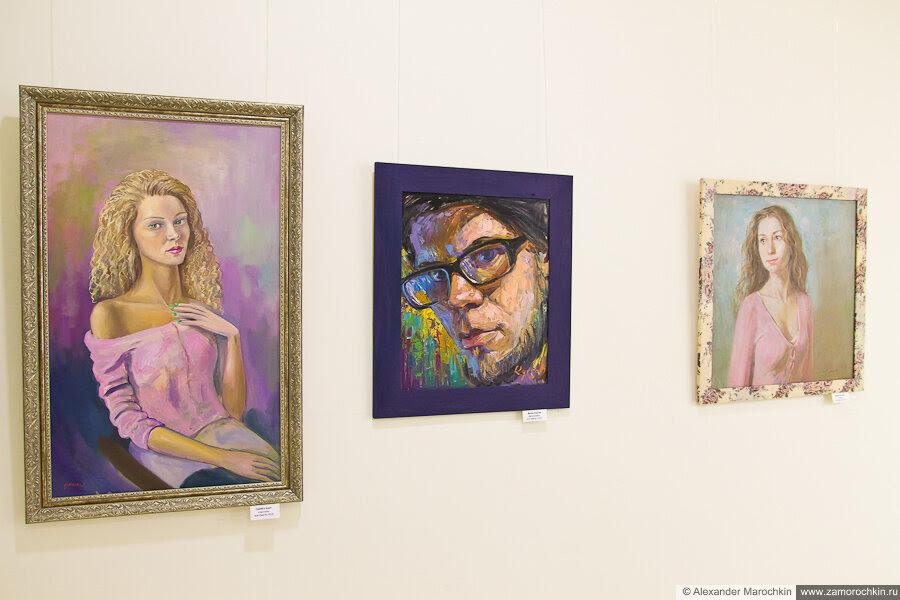 Выставка портретной живописи Олицатворения в ТРЦ РИО