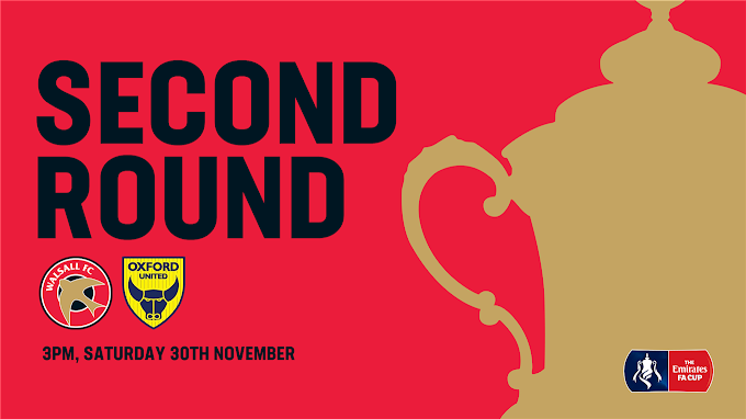 Emirates FA Cup: Oxford United Ticket News