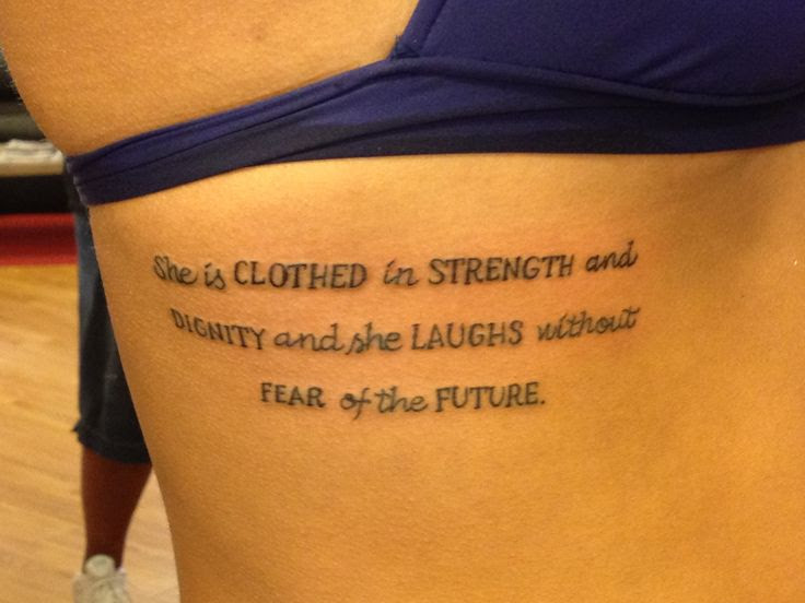 Strength And Dignity Tattoo Wwwpicsbudcom