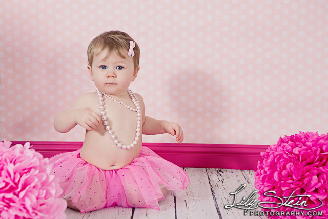 One Year Old Lily Stein Photography