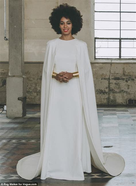 Solange Knowles?s Wedding Dress and Portrait by