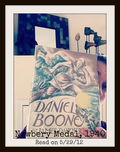 The Newbery Challenge: Daniel Boone