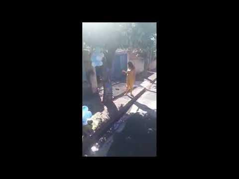 Grávida ganha 'charreata' emocionante em Araçatuba