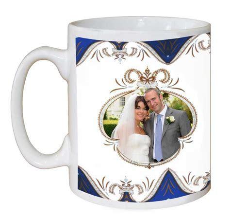 Royal Crest Wedding Mug   Gift Shop   personalised Gift