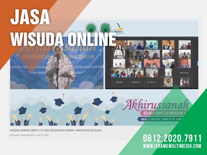 Jasa Wisuda Online | 0812.2020.7911 | IFrame Multimedia oleh - fotograferindonesia.xyz