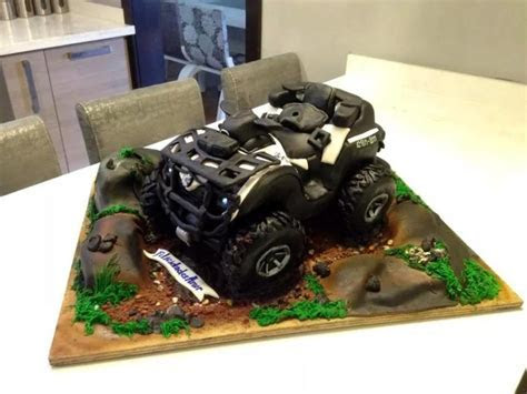 ATV CAN AM   cake by Rock n Rolla Cakes   CakesDecor