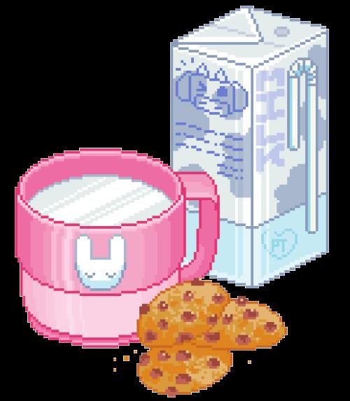 milk & cookies yeahhh