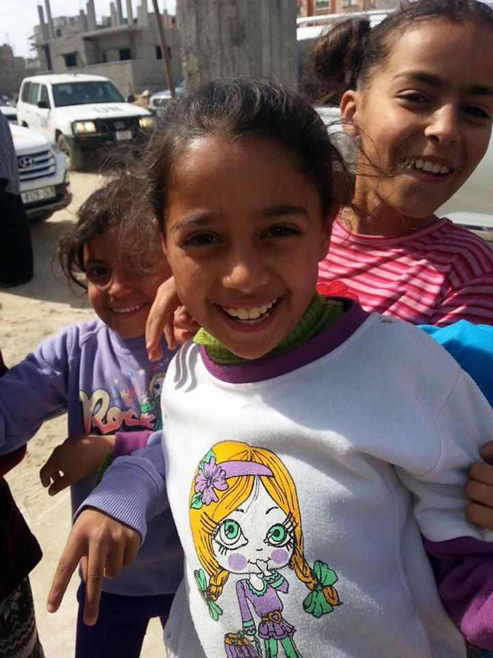 I bambini di Shujjaya (Foto: Patrizia Cecconi/Nena News)