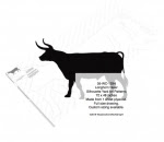Longhorn Steer Silhouettes Yard Art Woodworking Pattern - fee plans from WoodworkersWorkshop® Online Store - cowboys,western,rodeos,bronc riding,yard art,painting wood crafts,scrollsawing patterns,drawings,plywood,plywoodworking plans,woodworkers projects,workshop blueprints