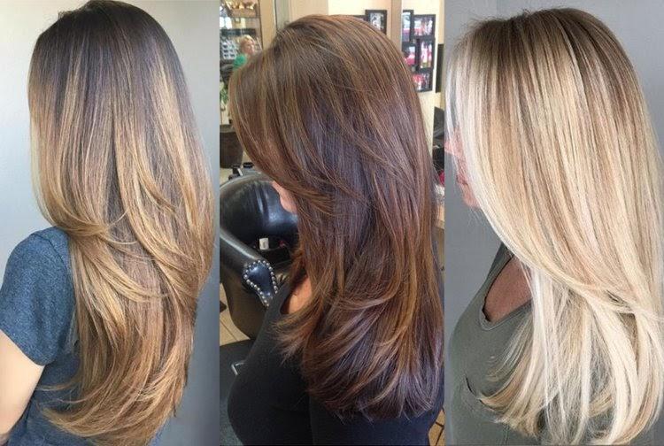 Frisuren Stufenschnitt Lange Haare Hinten - Frisuren 2021