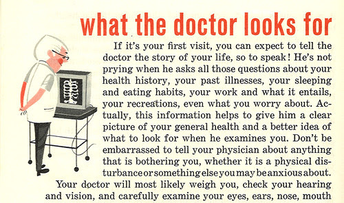 What the doctor looks for