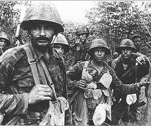 Comabtientes de Cuba y Angola. (Foto: Archivo.)