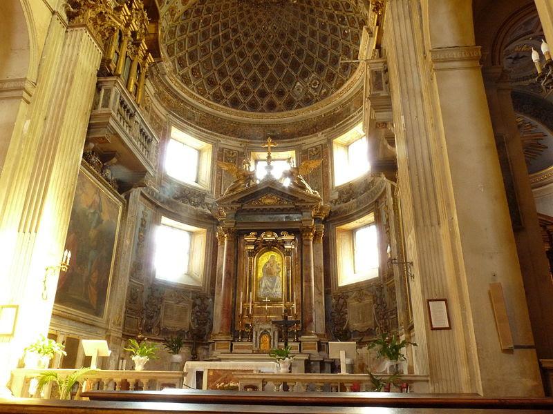 File:Santa Maria della Consolazione Roma - interior 1.JPG
