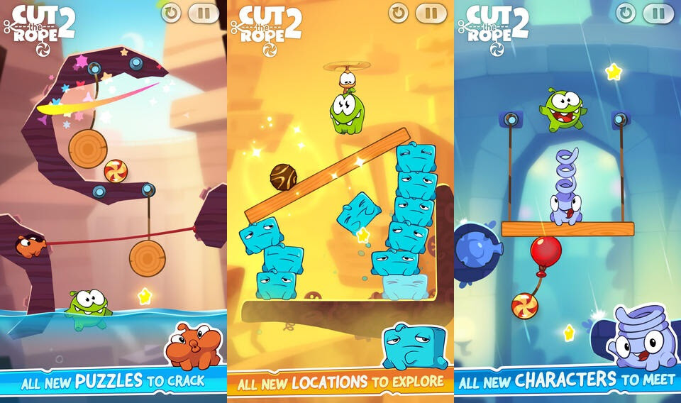 Cut The Rope 2 - iOS - $0.99