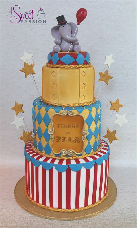 Circus Cake ? Sweet Passion Cakery