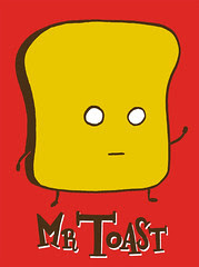 Mr Toast shirt design