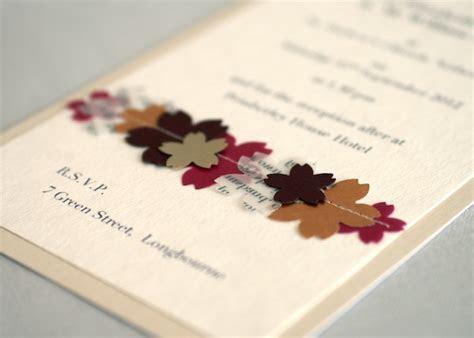Ideas for Handmade Wedding Invitations   WeddingElation