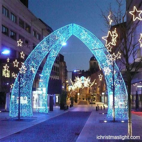 Christmas outdoor decor LED lighted arch   iChristmasLight