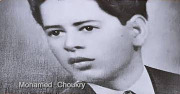 El escritor Mohamed Chukry.