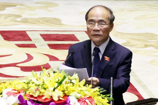 chủ quyền, giàn khoan, Hải Dương 981, Trung Quốc, Chủ tịch QH, UNCLOS, DOC, Nguyễn Sinh Hùng, Biển Đông