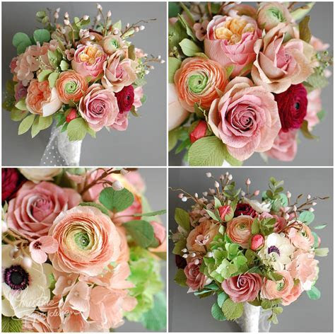 Paper flowers for a fairytale wedding!   Christine Paper