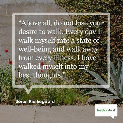 Walking empowers you. http://www.FlourishHandbook.com