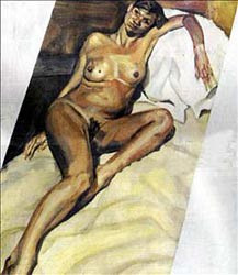 lucien freud -kate_moss by T Sizzle